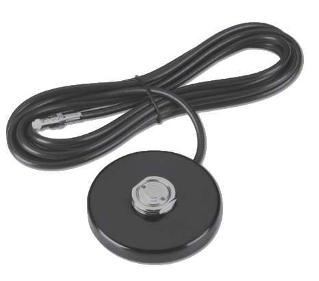 NMOMMRDS17SMARP: NMO 3.5 inch Round Magnetic Mount - 17 foot DS - RP SMA-Male