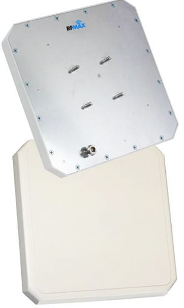 RCPL-902-09-SNF: 10x10 inch IP-67 Rated Left Hand Circularly Polarized RFID Antenna - FCC