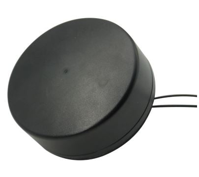 RHPMM-G3-13: Black Hockey puck Style antenna with GPS and 3G bands- Magnetic mount with 13 ft cable