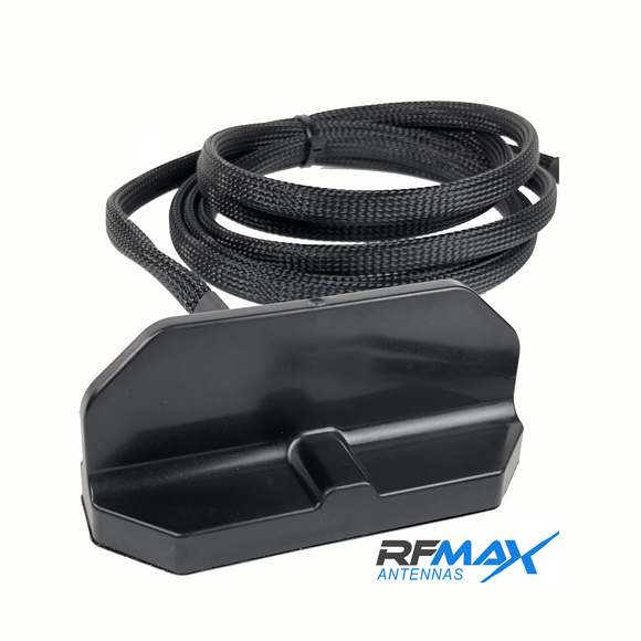 RM1D-WW-18-RR-B: Panasonic Arbitrator 360 Dual WiFi Antenna.  Black, Roof Mounted with 18 ft. Cables & RPSMA Connectors