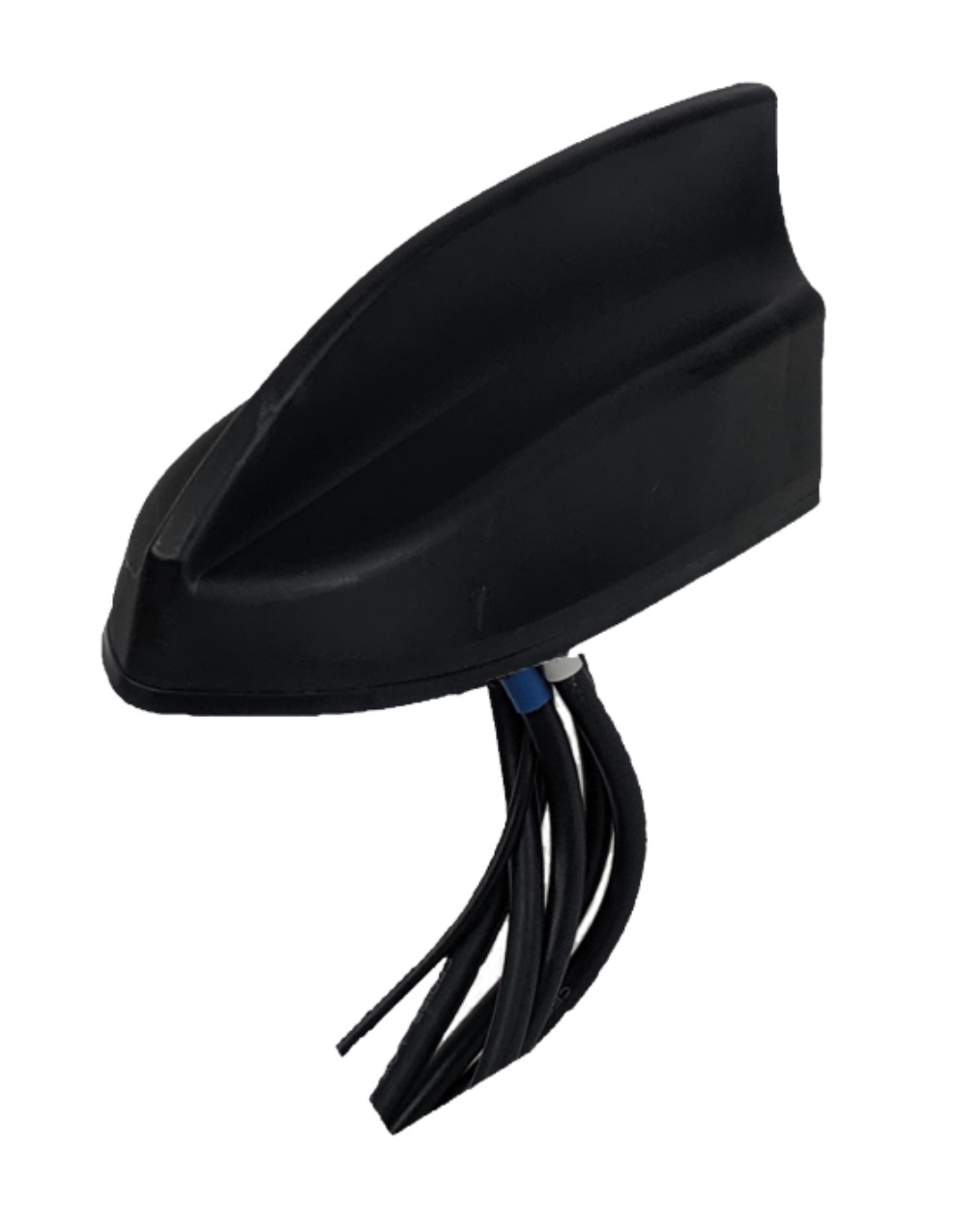 RMXD-G44-15-SSS-B: Shark Fin Antenna with 1x GPS, 2x LTE, and 3x SMA-Male Connectors