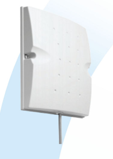 S2401240P12NF: Indoor and Outdoor Low Profile Directional H-plane Panel Antenna with a frequency range from 2400-2500 MHz with N-female connector