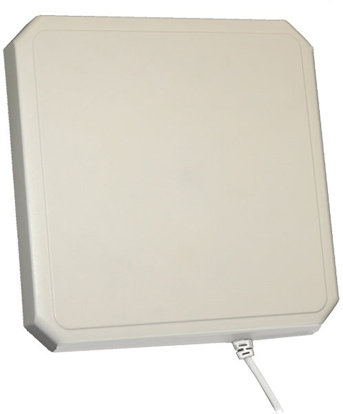 S8658WPR-T-03 10x10 Inch Wideband RFID Panel Antenna - 8 Inch rear Entry Coax with MMCX for ThingMagic Astra