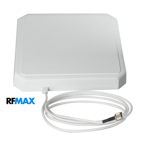 RCPR-902-8-RTM-8: 10x10 inch IP54 RHCP Antenna for FCC RFID Readers: Impinj R420 & Zebra FX7500