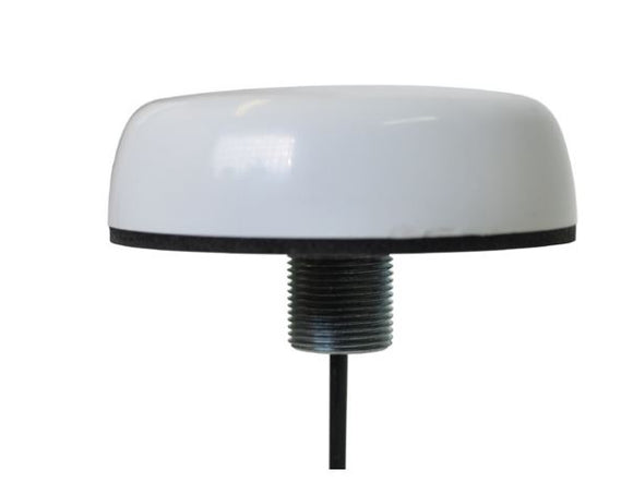 SM-1575-2C-WHT-180: 3-5V GPS surface mount white antenna with 15 feet RG-174 with SMA-plug (1575 MHz)