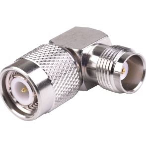 STM-STM: Right Angle TNC Male to TNC Female adapter