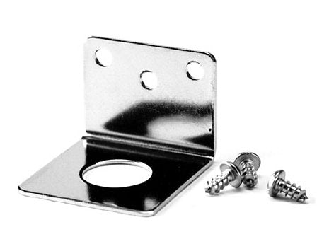 Stainless Steel Trunk Mount L Bracket 3/4 inch Mount