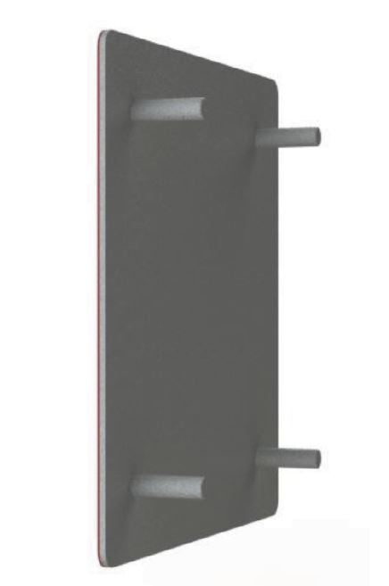 71757: Universal Mounting Plate for Times-7 SlimLine Antennas 6mm