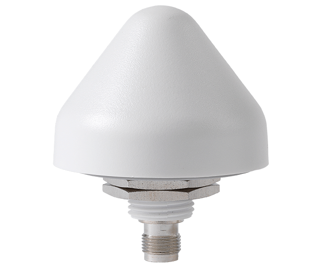 WLP2458NGP: PCTEL / Maxrad White Low PRofile Dual Band Wi-Fi Antenna - 2.4/ 5 GHz - No Ground Plane Needed - IP67