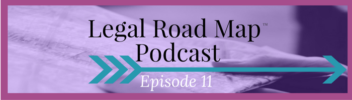 Dealing with copycats who rip off your content or brand name (Legal Road Map® Podcast S1E11)