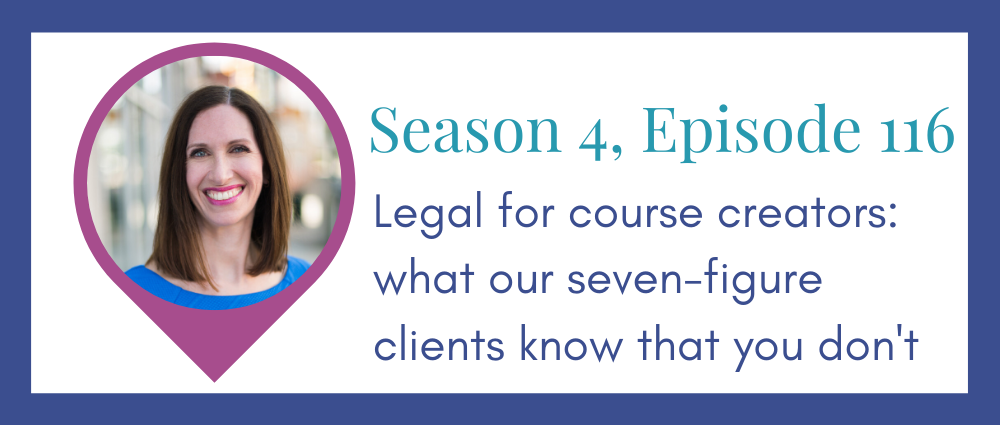 What do 7-figure business owners know that you don't? (Legal Road Map® Podcast S4E116)