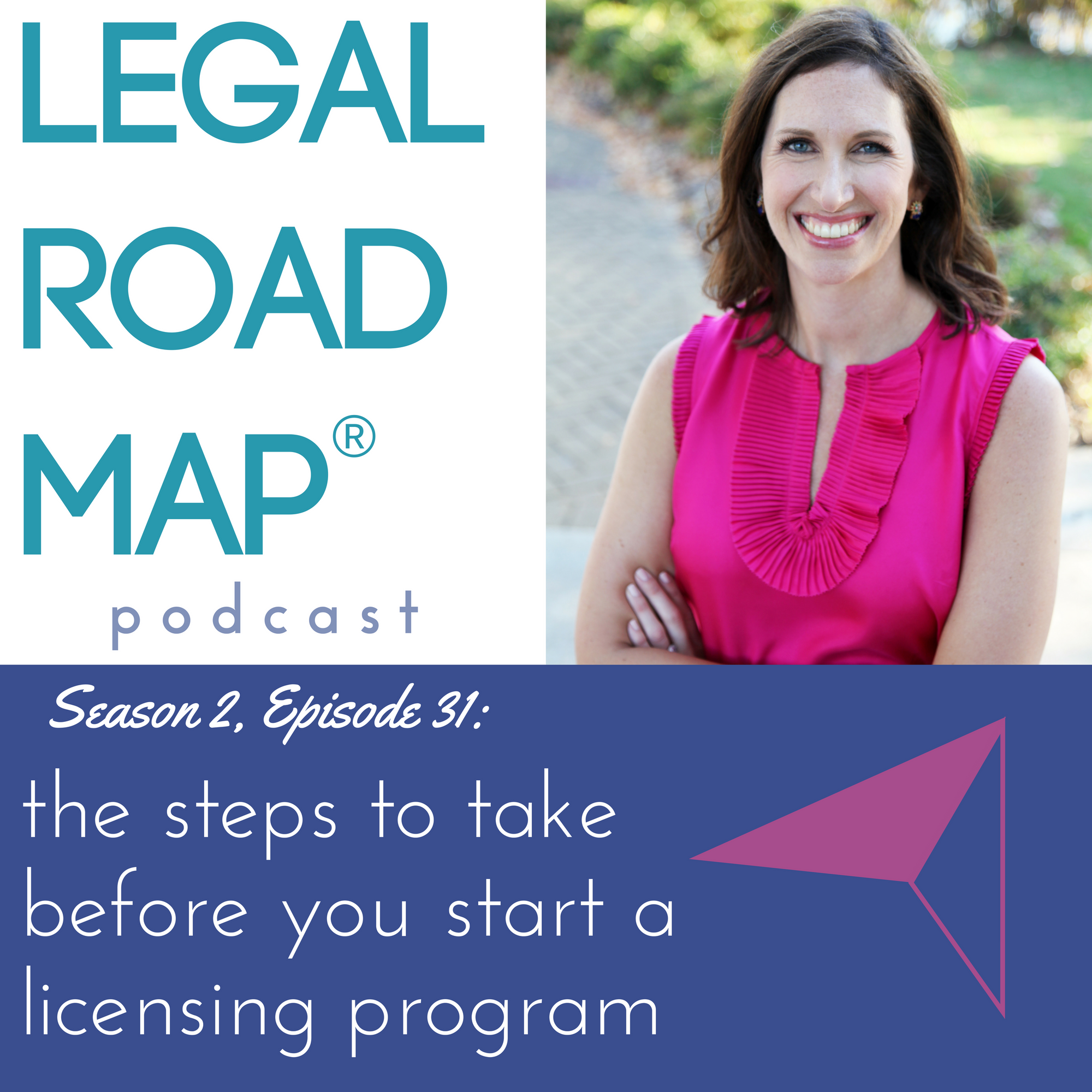The steps to take before you start a licensing program (Legal Road Map® Podcast S2E31)
