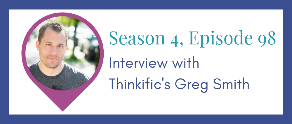 Course creator interview: Thinkifics Greg Smith (Legal Road Map® Episode S4E98)