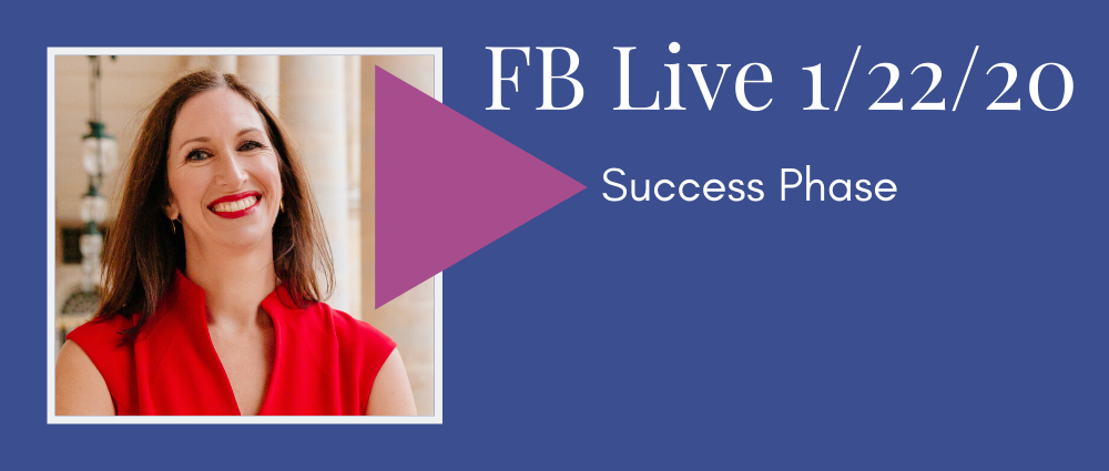 VIDEO: Success Phase (FB Live 112)
