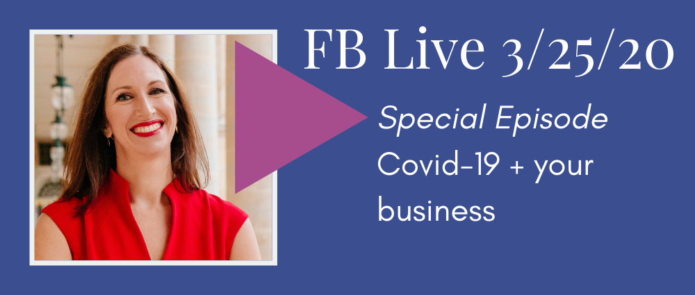VIDEO: SBA Loans and New Laws during COVID-19 (FB Live 121)
