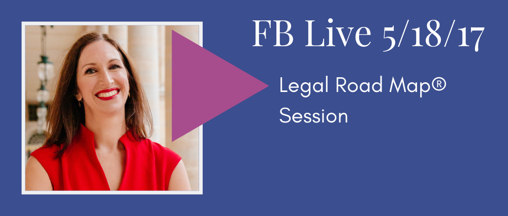 Legal Road Map Session (Facebook Live 36)