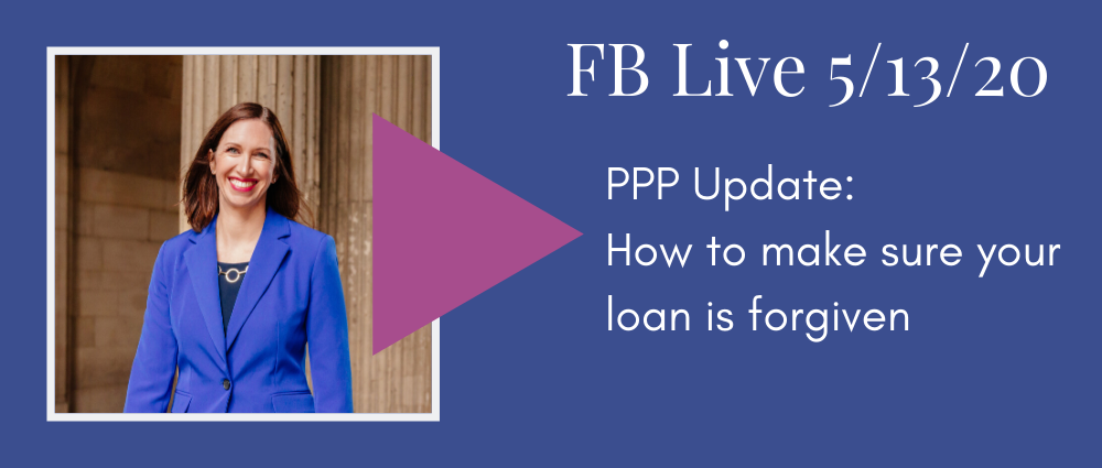 Legal Road Map podcast - PPP Update - How to make sure your loan is forgiven, Autumn Witt Boyd Law Office