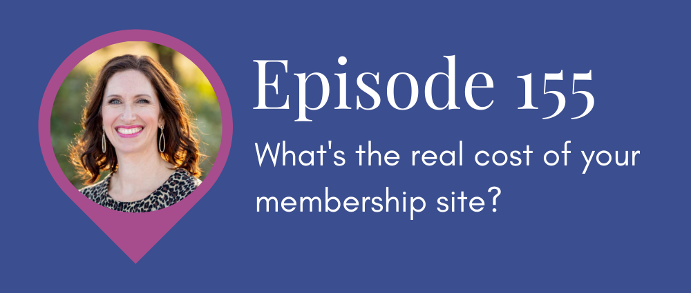 What's the real cost of your membership site (Legal Road Map podcast S5E155)