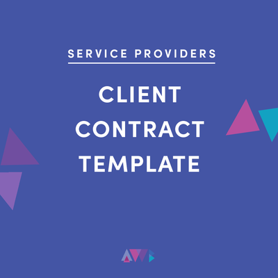 service providers client contract template