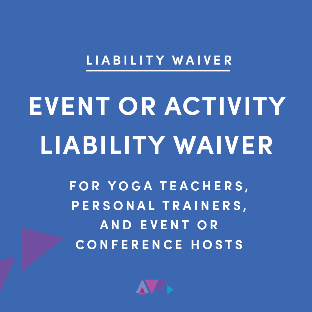 event or activity waiver