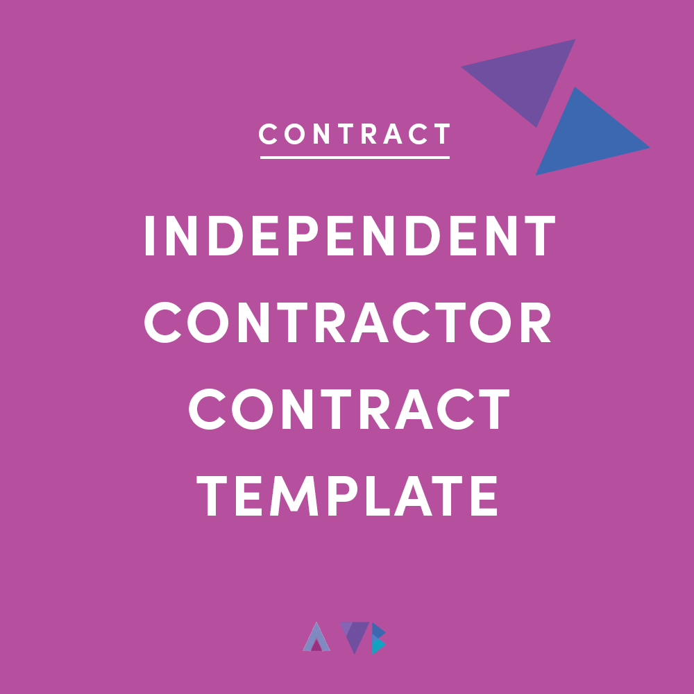 independent contractor contract template