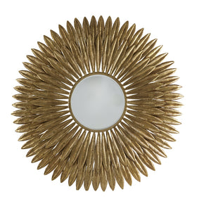 Wren Feather Mirror