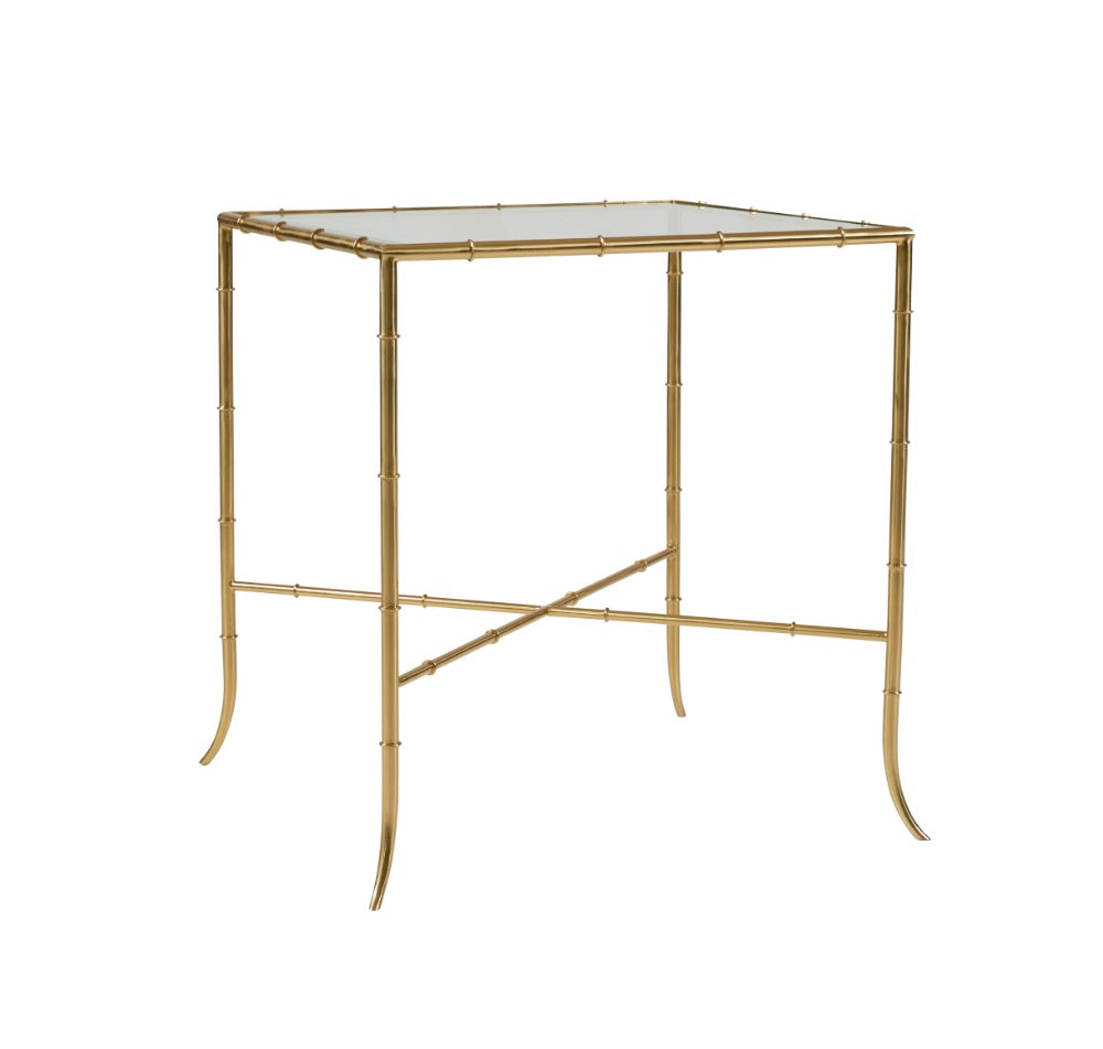 Nanette Bamboo End Table
