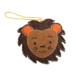 Felt Lion Ornament
