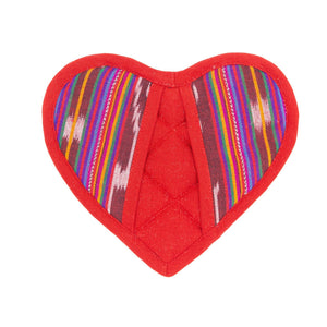 Load image into Gallery viewer, Red Heart Potholder