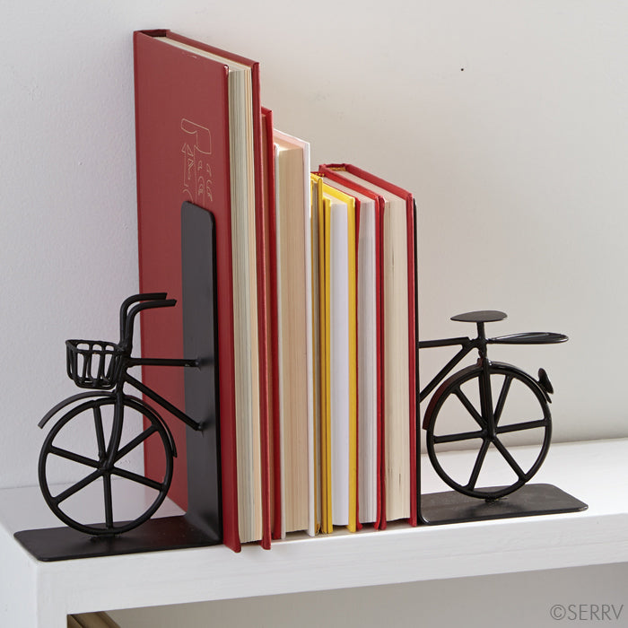 Bike Bookends