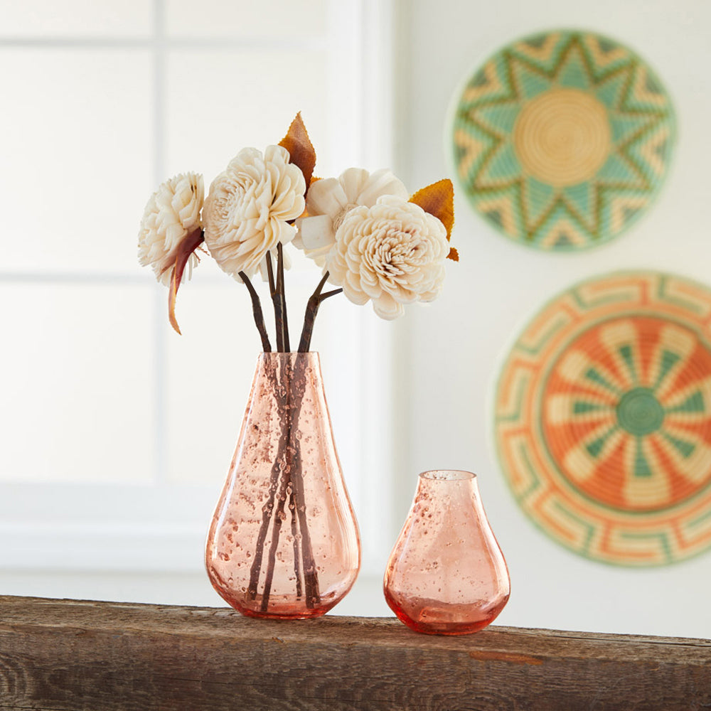 Short Bud Bubble Vase