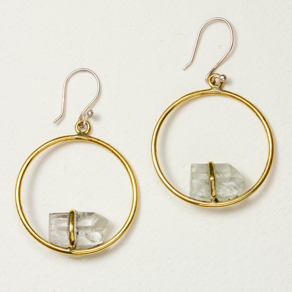 Healing Orbit Earring