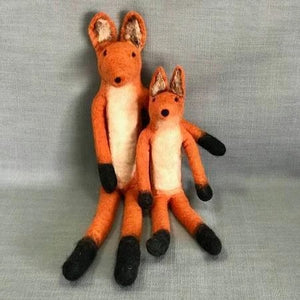 Load image into Gallery viewer, Large Felt Fox