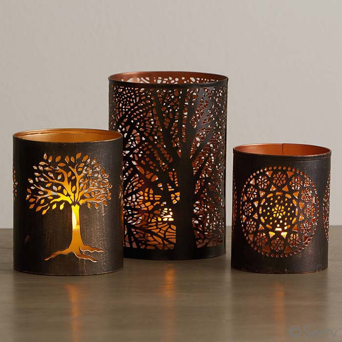 Small Tree of Life Lantern