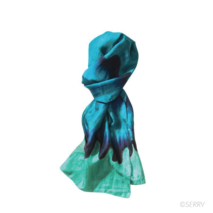 Load image into Gallery viewer, Ocean Wave Scarf