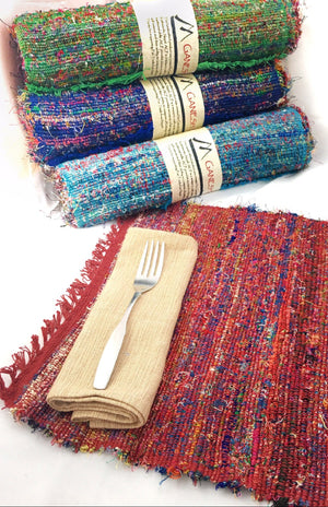 Recycled Silk Placemats