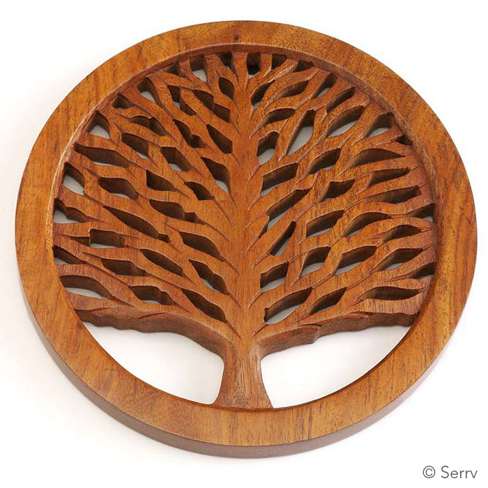 Load image into Gallery viewer, Tree of Life Trivet