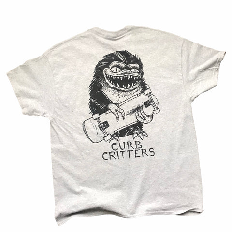 Curb Critters Tee Grey