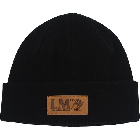 Loser Machine Checkers Beanie Black