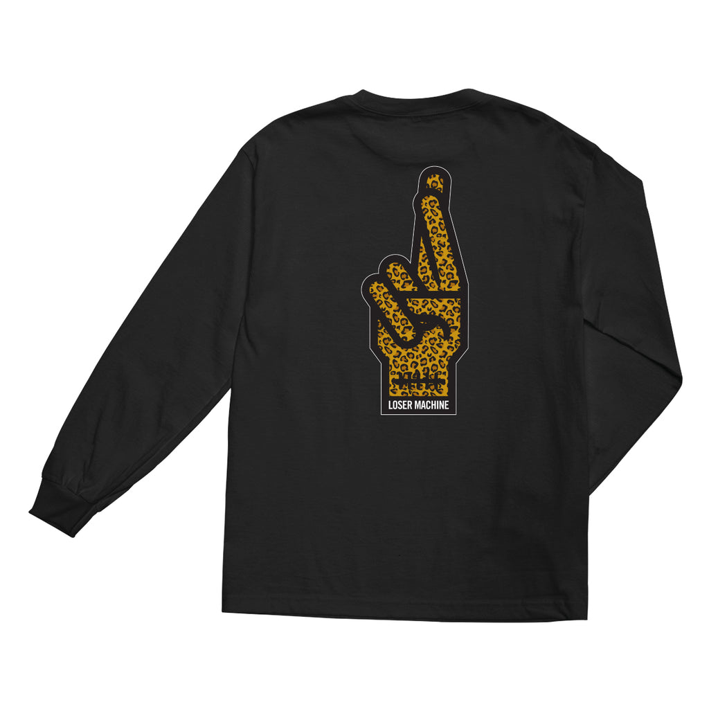 Loser Machine Cheetah Long Sleeve Tee
