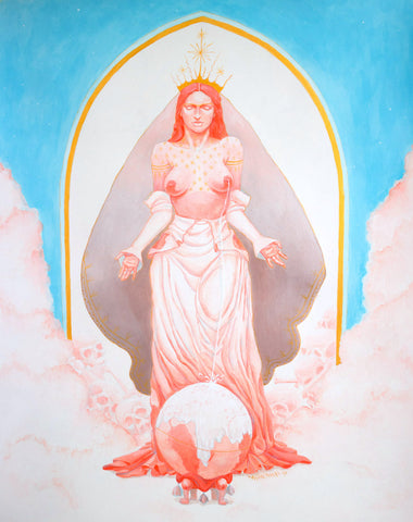 """Milk Madonna Dogma"" by Maribel Navarro"