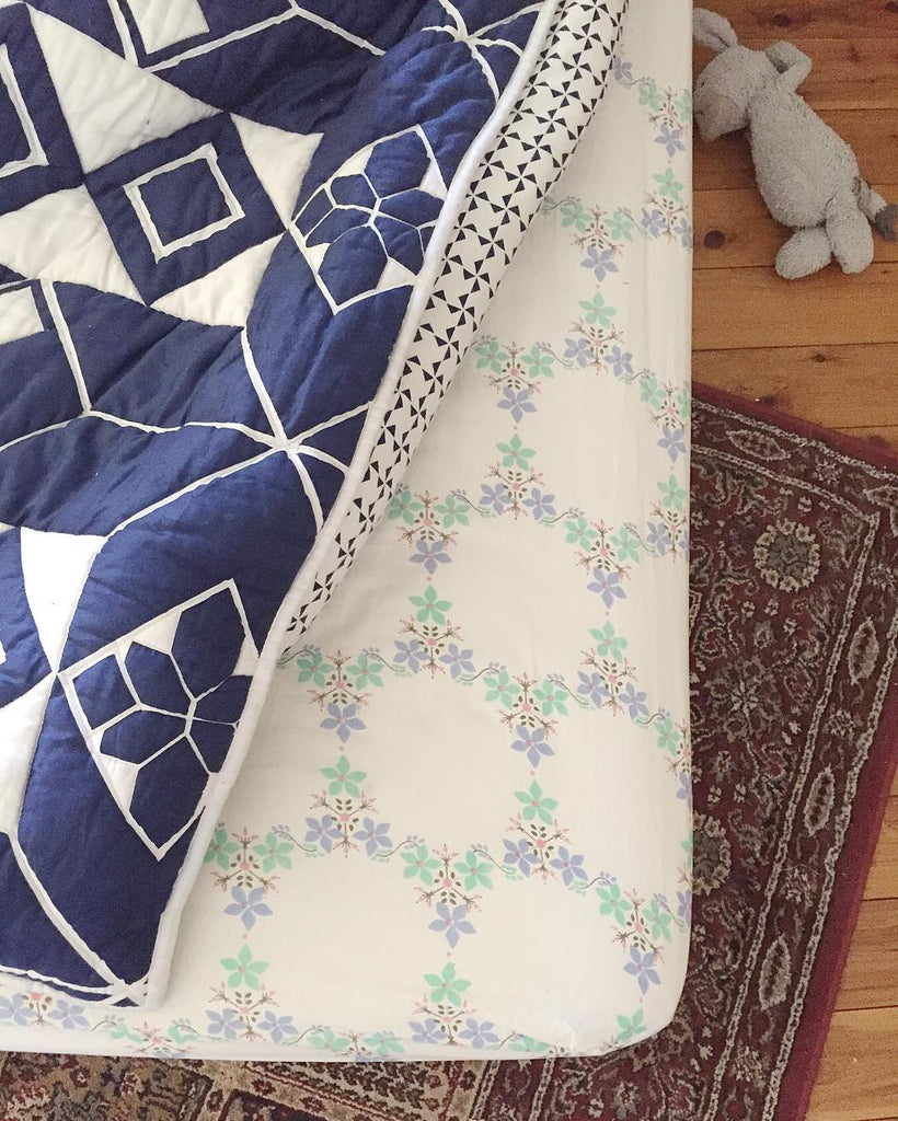 Oh Mabel organic sheets and quilts
