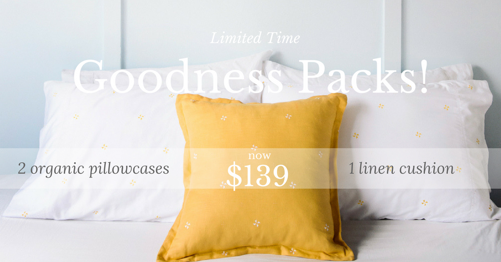 Organic Pillowcases Packages On Sale
