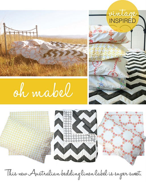 Oh Mabel Organic Cotton Quilt  Adore Magazine