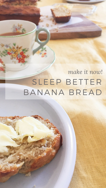 Recipes to help you sleep