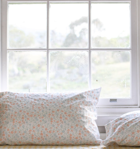 Oh Mabel organic pillowcases for a healthier sleep