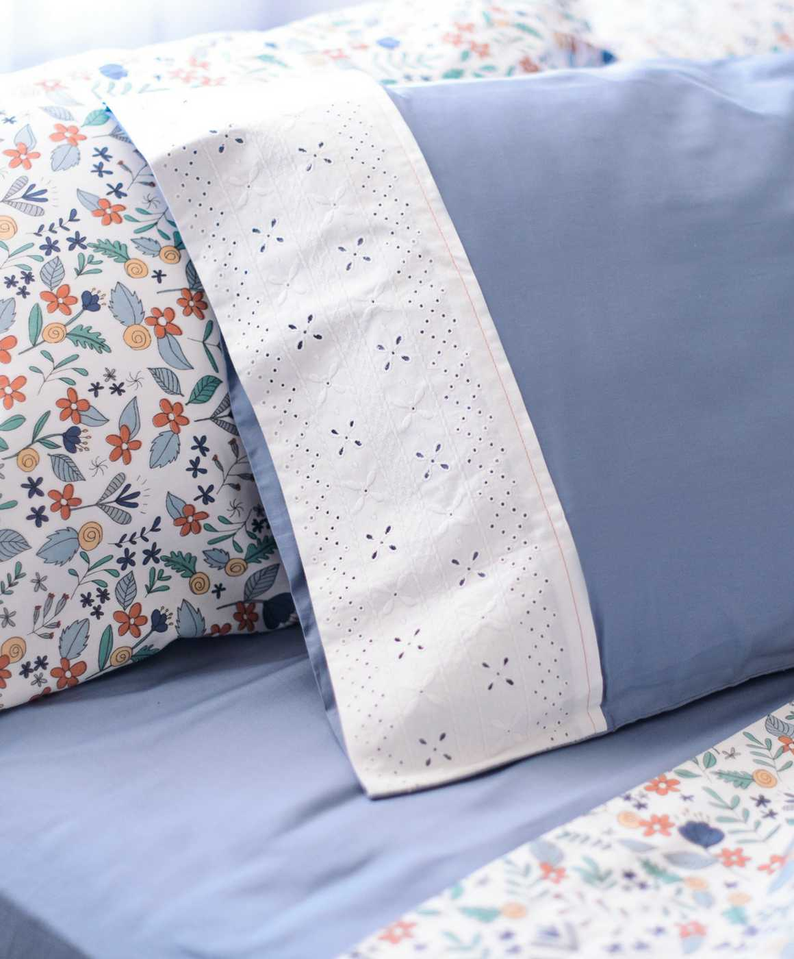 Embroidered Cotton Sheets Organic Bed Ohmabelcom Pillow With Embroider Sweet Dream Hetties Dreams