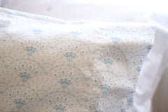 Oh Mabel Vintage Inspired Organic Cotton Pillowcase Elizabeth Olive