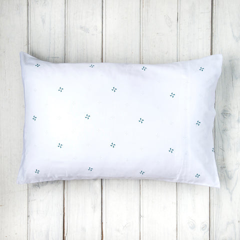 Mabel's Wish Teal Pillowcases