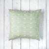 Oh Mabel Vintage Inspired Linen Cushion Mint